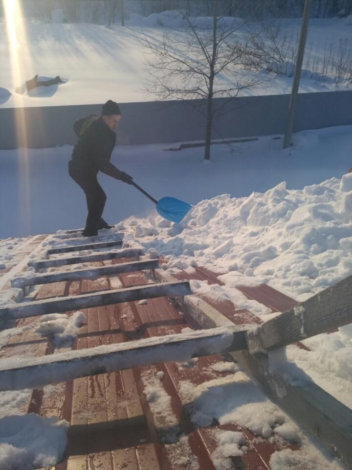 Купить приспособление для чистки снега с крыши