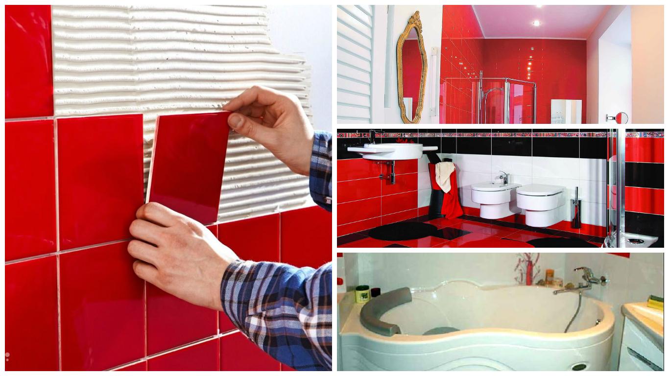 Укладка плитки в ванной Уфа
